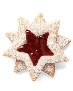 Christmas Cookie Recipes: Linzer Stars