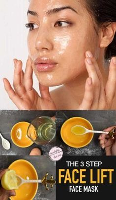 DIY Homemade Skin Tightening and Firming Mask | Natural FaceLift Mask - #beauty #diy #skin #care #best #face #mask