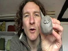 great video for simple clay fish