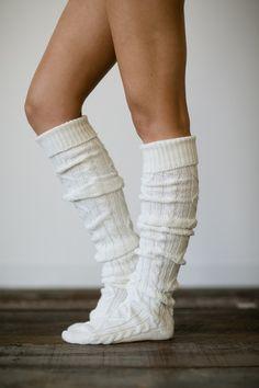 three bird nest - cute lace leg warmers, boot socks & socks