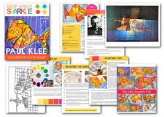 Creative Art Projects for Busy Teachers Paul Klee Art, Teaching Art, Teaching Ideas, Deep Space Sparkle, Watercolor Fish, Warm And Cool Colors, 5th Grade Art, Red Balloon, Dutch Artists