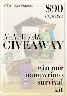 Win a NaNoWriMo Survival Kit from The Write Practice