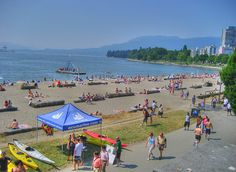 English Bay in Vancouver