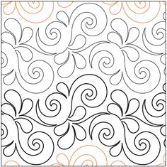 Dragon Wings - Digital - Quilts Complete - Continuous Line ... : digital longarm quilting patterns - Adamdwight.com