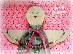Angel on My Shoulder Christmas Wishes, Angel, Crafty, Shoulder, Gifts, Presents, Favors, Christmas Greetings, Gift