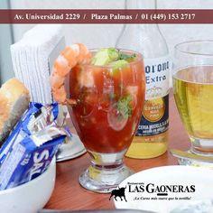 Para este calor #LasGaoneras tiene la solución. Ven por un Coctel de camarón y acompáñalo con una cerveza bien fría.  http://ift.tt/2dpEenO