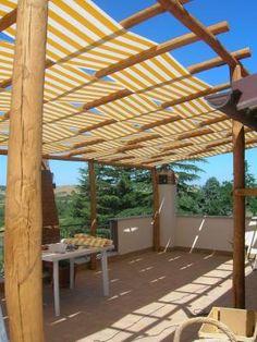 terrassen berdachung aus eisen pergole contract linie. Black Bedroom Furniture Sets. Home Design Ideas