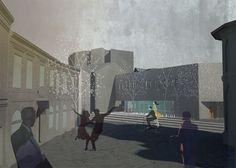 architecture illustration texture rendering