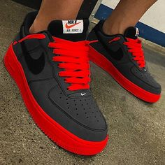 That's Sick - - Women Trends Air Force One, Nike Shoes Air Force, Fly Shoes, Kicks Shoes, Mens Fashion Shoes, Sneakers Fashion, Sneakers Mode, Shoes Sneakers, Nike Shoes Blue