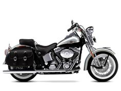 harley davidson logo | Fondo 2003 Harley Davidson FLSTS Heritage Springer de Pantalla y ...