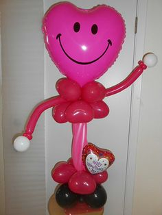 Valentines Day is upon us! A smiley balloon bouquet.