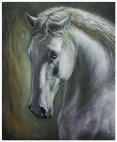 Horse portrait by szog88 on deviantART