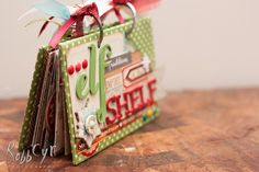 Make a Mini Album from Scratch:: A Scrapbook Tutorial by Cassandra Cyr - pretty paper. true stories. {and scrapbooking classes with cupcakes.}