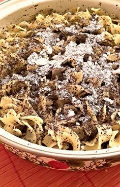 Mákos tészta, drága nagyim emléke | Konyhagyári capriccio