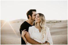 Elise and Kade, Desert Sand Dune Engagements - Engagement Engagement Outfits, Engagement Couple, Engagement Pictures, Engagement Shoots, Couple Posing, Couple Shoot, Couple Photography, Engagement Photography, Engagement Photo Inspiration