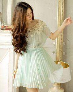 *JAPON STYLE elbise VICTORIAN ŞİFON dantel yaka GittiGidiyor'da 57729883