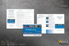 Eolie card - pieghevole e card