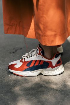nice shoes b0b62 6f3e5 Sneaker sightings on the streets of Milan included the soon-to-be-released adidas  Originals Yung 1  much, much more.