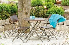 Conjunto de poliratán, de 3 piezas, marrón oscuro, mesa y sillas de terraza, mesa y sillas de jardín, 60×60 cm, mesa con 2 sillas de jardín, conjunto de jardín, muebles para la terraza, muebles para el balcón, muebles de jardín, ratán - http://vivahogar.net/oferta/conjunto-de-poliratan-de-3-piezas-marron-oscuro-mesa-y-sillas-de-terraza-mesa-y-sillas-de-jardin-60x60-cm-mesa-con-2-sillas-de-jardin-conjunto-de-jardin-muebles-para-la-terraza-muebles-para-e/ -