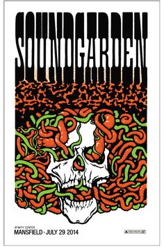 Soundgarden Ames Bros Mansfield Poster Artist Edition On Sale Info