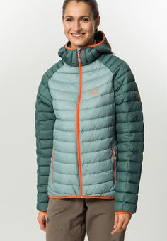 Jack Wolfskin ZENON - Down jacket - arctic ocean for £140.00 (11/06/16) with free delivery at Zalando