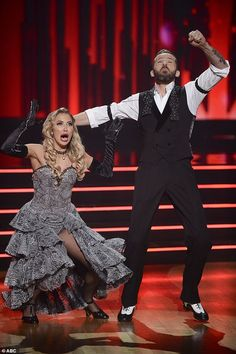 The champions: Kaitlyn Bristowe and her pro partner Artem Chigvintsev won season 29 of Dancing With The Stars on Monday's action-packed finale Artem Chigvintsev, Kaitlyn Bristowe, Dancing With The Stars, Champion, Seasons, Dance, Dancing, Seasons Of The Year