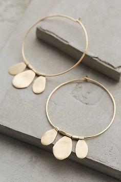 Very pretty earrings – bohemian meets classy. x