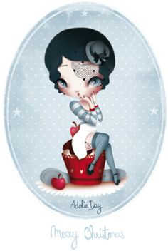 ADOLIE DAY ILLUSTRATIONS: Enchanted & rock'n roll