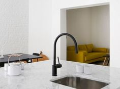 Buy online Rhythm rh-120 by Nivito, painted-finish stainless steel kitchen mixer tap, Rhythm collection