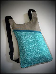 p ara tiendas: mochilas CDN Diy Backpack, Art Bag, Simple Bags, Denim Bag, Fabric Bags, Designer Backpacks, Pouch Bag, Beautiful Bags, Purses And Bags