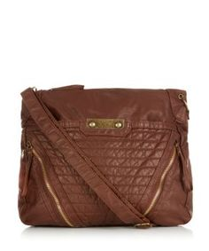 Tan Quilted Across Body Bag £19.99