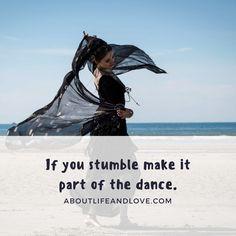 Keep on dancing.