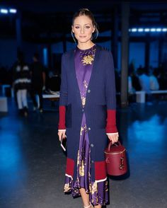 "2,582 Beğenme, 10 Yorum - Instagram'da MAX&Co. (@maxandco): ""An ode to purple. The ever-so-chic Olivia Palermo wears our floral satin dress at the shows during…"""