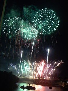 Fireworks using an iPhone