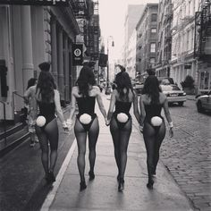 love vintage playboy bunnies - play with this idea