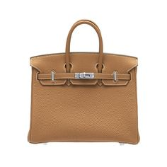 Hermes Birkin Handbags 25CM Brown Togo Leather Silver Hardware     Add this to the wish list too! This Bag is the bag to own!