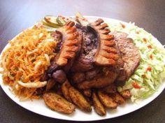 A legjobb cigánypecsenye Hungarian Cuisine, Hungarian Recipes, Meat Recipes, Cooking Recipes, Healthy Recipes, Eastern European Recipes, Roasted Pork Tenderloins, Good Food, Yummy Food