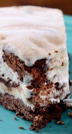 Thin Mint Ice Cream Pie
