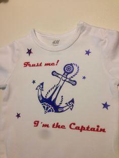 Unikat! Luxurypimp Body Motiv: Anker & Trust ne! I'm the Captain!  Bodysuit