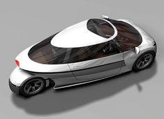 Michelin Challenge Design Space Efficient Vehicle (SEV) concept car