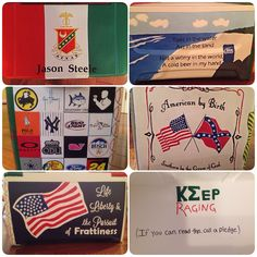 Kappa Sigma fraternity formal cooler