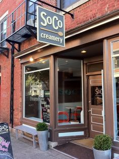 SoCo Creamery. You haven't tasted The Berkshires, until you've tasted SoCo's ice cream.
