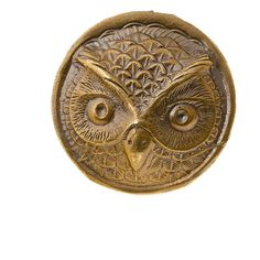 Alkemie Owl Coin Ring ($154) ❤ liked on Polyvore