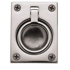 Baldwin 0394 1-7/8 Inch x 2-1/2 Inch Flush Cabinet Pull