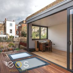 Walk-On Glass can be a great way of introducing natural light into a basement or single storey extension. For more information visit our website.  #walkonglass #glassfloor #eosrooflights