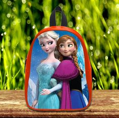 Frozen Disney Princess Elsa and Anna cute Pre-School Backpack - School Bag