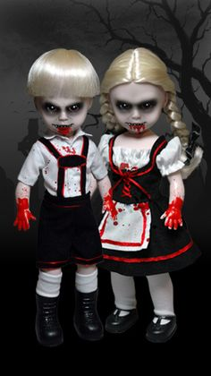 Scary Tales vol. Hansel and Gretel Halloween Doll, Spooky Halloween, Halloween Crafts, Halloween Decorations, Halloween Makeup, Halloween Table, Halloween Stuff, Scary Baby Dolls, Creepy Dolls For Sale