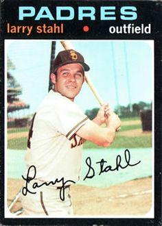 711 - Larry Stahl SP - San Diego Padres