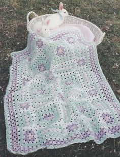 Somebunny's Sleepy Baby Afghan Crochet Patterns by 3rdGenCrochet