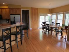 Beautiful kitchen - The interior of this perfectly designed traditional floor plan is SPOILED with crown moldings, chair rail, tray'd ceilings, multiple fireplaces, hardwood & ceramic flooring. Home is located in Hummelstown PA and is available for purchase.